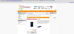 Cache del sito del 18 gennaio 2013.